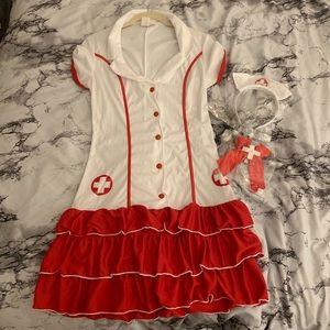 DreamGirl | Sexy Nurse | Halloween | Costume
